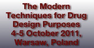 The Modern Techniques for Drug Design Purposes
